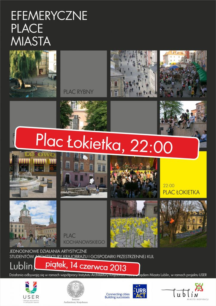 Plakate efemeryczne place miasta Pl_Łokietka